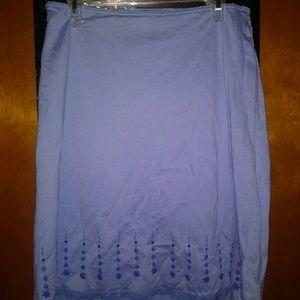 Express Skirts - NWOT Express Flowered& Sequin Detailed Skirt
